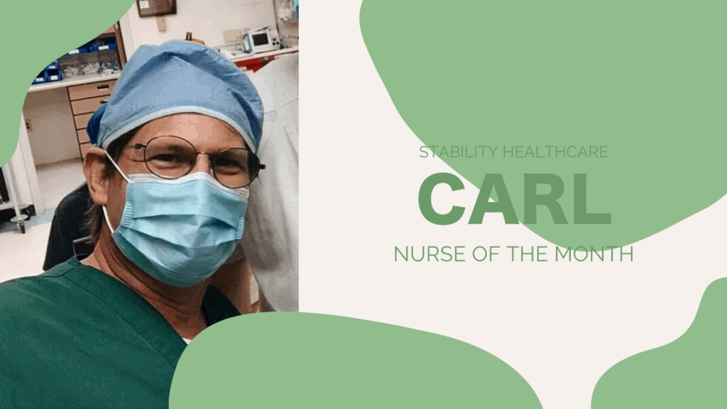 Nurse of the Month: Carl