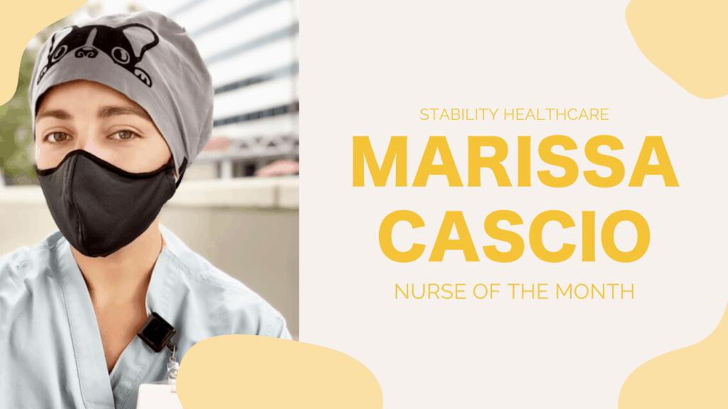 Nurse of the Month: Marissa Cascio