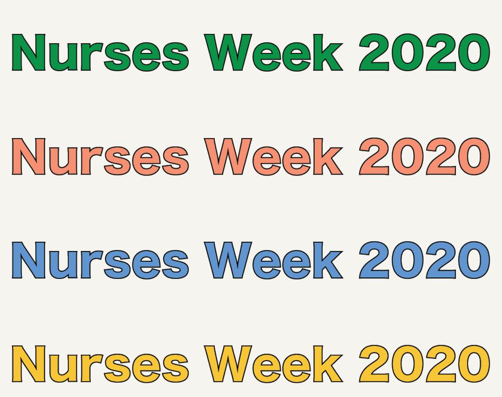 Discounts & Freebies to Celebrate Nurses Week 2020